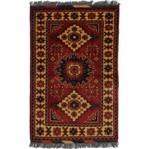 Wool carpet Caucasian krgai 59 X 91  Living room carpet / Bedroom carpet