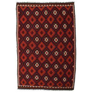 Kelim Maymana 204x298 Wool Kelim / Rag rug