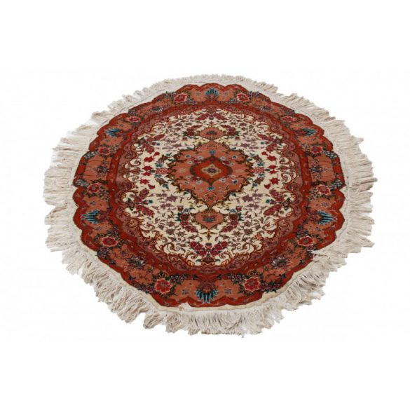 Round Carpet Tabrizi 97x152 Persian carpet